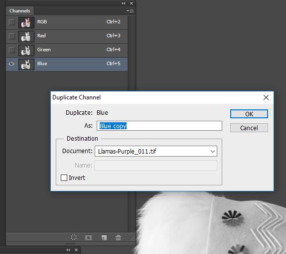 Duplicate channel window