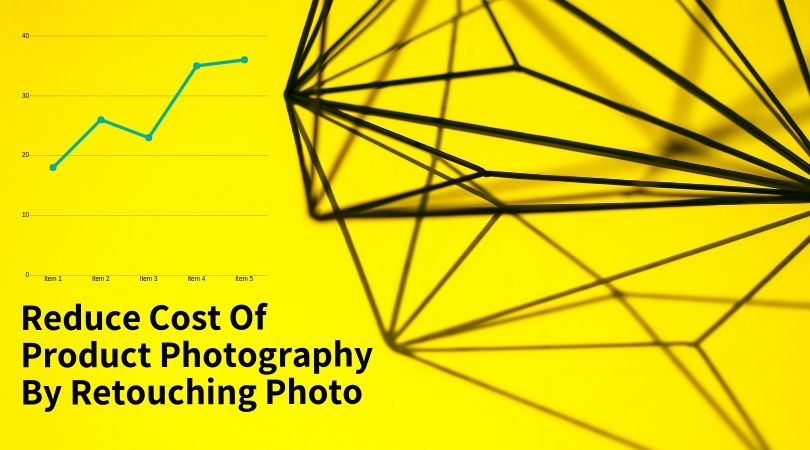 How to eliminate cost of product photography by retouching photos.